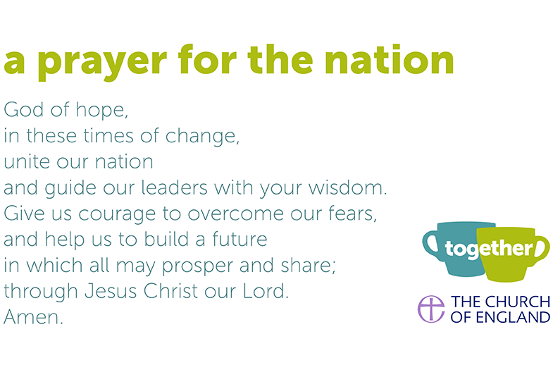 Together - prayer for the nation